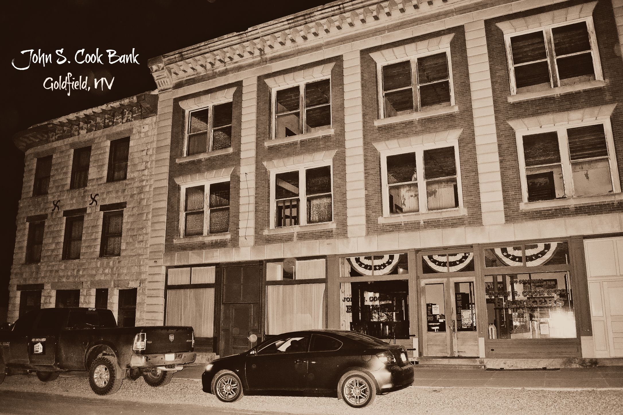 John S. Cook Bank building